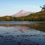 蓴菜沼からの駒ケ岳