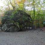 駒ケ岳神社の岩石