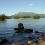 溶岩からの風景