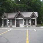 大沼公園南駐車場トイレ