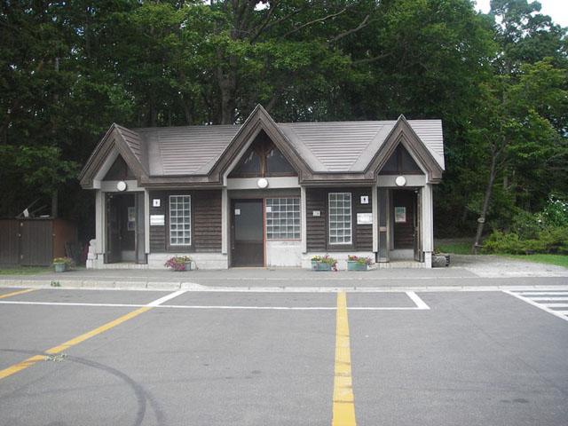 大沼公園広場駐車場トイレ