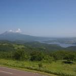 きじひき高原(木地挽山)展望台から見る大沼