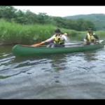 大沼小沼でカヌー体験